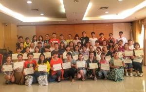 我院王丹妮、叶欢老师赴海南参加第三期广泛性发育障碍康复专项技术培训班