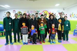 成都西南儿童康复医学研究院12月宝贝生日会